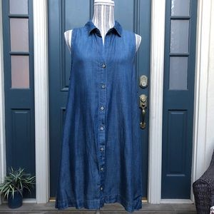 Anthro Cloth and Stone Denim Dress